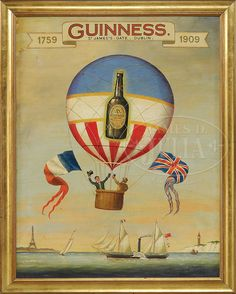 GUINNESS BREWERY ADVERTISING SIGN.