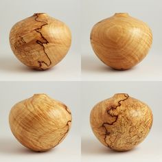 Hollow Forms - Van Duyn WoodworkSmall Detailed Maple Hollow Form - $170.00 @ www.vanduynwoodwork.com