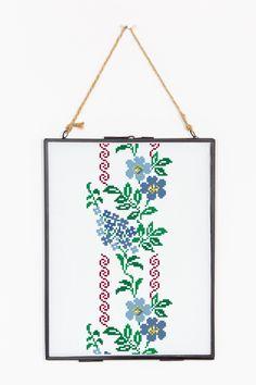 Fiore blu rampicante