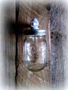 Peyton's Light  Clear Mason Ball Jar Rustic by HeartofGodRanch