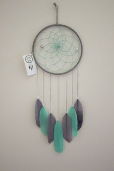A personal favorite from my Etsy shop https://www.etsy.com/ca/listing/536016705/7-dream-catcher