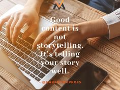 #b2b #b2bmarketing #valasys #storytelling #tellingyourstory #marketingprofs #contentmarketing #goodcontent Telling Stories, Content Marketing, Storytelling, Inbound Marketing
