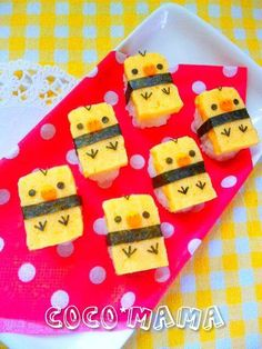 Kiiroitori SUSHI-- you can find a recipe for Japanese omelette in the Sushi Chef Cookbook!