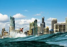 Surfers Paradise, Gold Coast #Australia Photo: Damea Dorsey #surfing