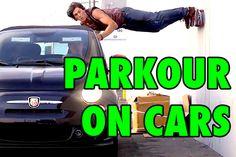 Паркур на движущихся автомобилях https://mensby.com/video/entertainment/5818-top-parkour-stunts-moving-cars  Мы все привыкли к перемещению и преодолению препятствий трейсерами в городе. Но что будет, если рискованные трейсеры будут использовать в твоих трюках движущиеся автомобили?