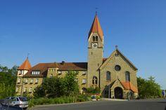 Kloster St. Ludwig in Wipfeld - http://www.schweinfurt360.de/  #Kloster #Wipfeld #Kirche