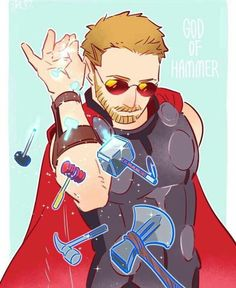 Are you Thor, the god of hammers? - Marvel & DC