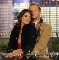 HIMYM - Barney&Robin the night they got engaged
