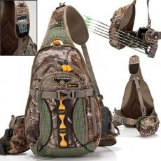 Tenzing TZ 1140 Single Sling Archery Pack - Realtree Xtra