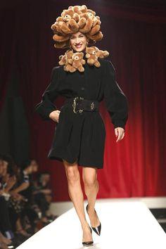Moschino Spring 2014 - Teddy bear Hat