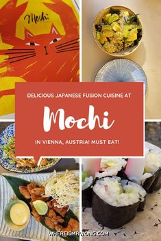 Are you looking for in but do not really mind variations in authenticity? Then with its Fusion cuisine, combining Japanese with other international culinary traditions is worth a try. Mochi, Best Vegetarian Restaurants, Ramen Bar, Thai Street Food, Japanese Sushi, Vietnamese Cuisine, Foods To Eat, Base Foods, Asian Recipes