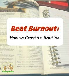If you are feeling burned out by homeschooling, don't miss these simple tips to create a homeschool routine and get back on track- fast!