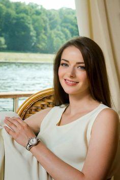 Марина Александрова (Marina Aleksandrova) в рекламной фотосессии Baume & Mercier