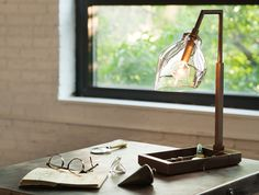 Desk top lamp -another favorit from Allison Bergers selection.