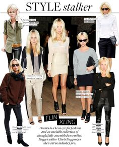 I love her style! I want to copy each and every look. So cool.