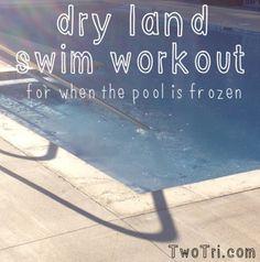 Dry Land Swim Workout For Triathletes   TwoTri.com