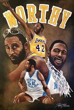 Basketball Is Life, Basketball Pictures, College Basketball, Basketball Players, Basketball History, James Worthy, Dallas Football, Kobe Bryant Pictures, American Athletes