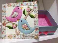 patchwork sin aguja | bordados | Pinterest