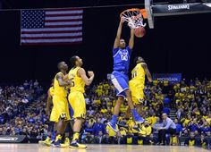 Marcus Lee dunks. Where has this kid been all year? What a great game he had. So proud!!