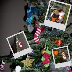 Des idées...& des mains !: Les chaussettes du Père Noël