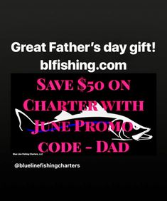 Fabulous Father's day gift for SW Florida inshore fishing charter. Offshore Fishing, Great Father's Day Gifts, Fishing Charters, Cape Coral, Blue Line, Fathers Day Gifts, Florida, The Florida, Father's Day Gifts