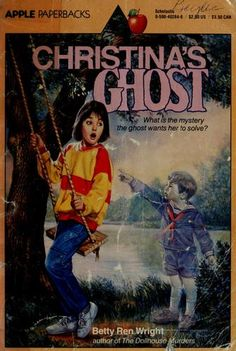 Christina's Ghost by Betty Ren Wright.  This book won the Texas Bluebonnet Award in 1988.