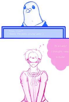 Hatoful Boyfriend by ~MrLudwigBeilschmidt on deviantART http://www.deviantart.com/art/Hatoful-Boyfriend-328576622