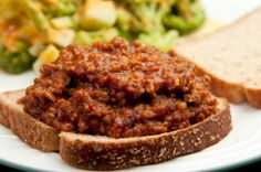 Sloppy Joes. Always hated sloppy joes growing up, but finally decided to give this a try and everyone in my family including myself loves it. I have made it a couple of times already, and I prepared it with a bit of bbq sauce and without, it comes out tasting great either way.