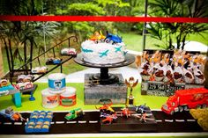 Disney Cars and Planes Party