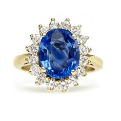 Sapphire Engagement Ring (quite a lot like the one worn by the lovely Duchess of Cambridge!)
