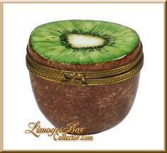 Half Kiwi Fruit Limoges Box - Retired