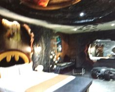 Batman themed man cave