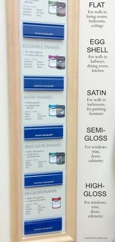 10 Paint Secrets: How to choose the right paint finish! Good to know! by schvucho