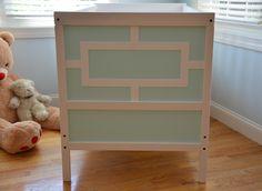 NEW O'verlays Kit for the IKEA Sundvick Crib  Harper Thick
