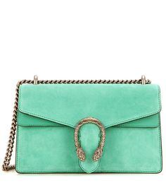 GUCCI Dionysus Small suede and leather shoulder bag