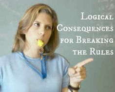One of the best ways to teach our children to accept responsibility for their mistakes and behavior is to use logical consequences, instead of punishment. They teach the hows and whys of good decisions, rather than making them sorry for making a bad choice (take a few minutes of time to regain control, and then apologize & repair the problem). You could also have them write or talk about some strategies to avoid it happening again. It must be related, reasonable and delivered respectfully.