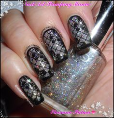 Nail Art Stamping Mania: Stamping Manicure With Born Pretty Store BP-44 Plate