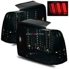 Ford America, Led Tail Lights, New Toys, Ford Mustang, Smoke, Cars, Pattern, Black, Ford Mustangs