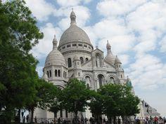 Sacre Coeur  | Love & Adventure Taj Mahal, Europe, Adventure, Architecture, City, Building, Places, Travel, Ile De France