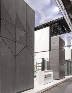 EQUITONE facade materials presence at Brussels BATIBOUW fair, march 2015. www.equitone.com