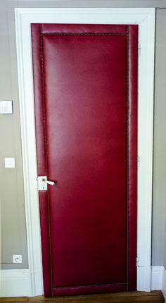 983b599046a8 Capitonnage de porte   capiton et décoration