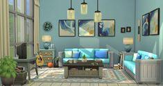 Sims 4 House Plans, Sims 4 House Building, Sims House, Muebles Sims 4 Cc, Sims 4 House Design, Sims Ideas, Sims 4 Build, Aesthetic Room Decor, House Blueprints