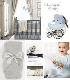 From nursery decor and birth announcements to blankets and booties, these classic styles in shades of pink and blue are the perfect choice for any traditional mother-to-be... by Finestationery.com's blog The Finer Things
