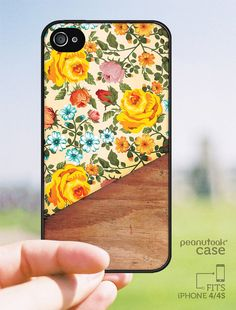 Floral vintage pattern Phone case for iPhone 4 or by PeanutoakCase, $18.99