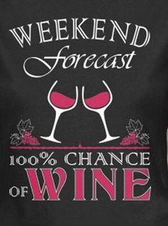 100% Chance of Wine