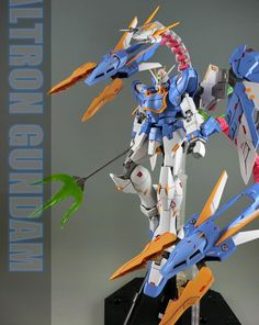 GUNDAM GUY: MG 1/100 Altron Gundam + Model Legend Parts Set - Custom Build