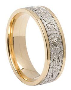 Celtic Knot Wedding Bands | Claddagh & Celtic Engagement Rings