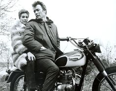 Triumph motorcycles at the movies - in pictures