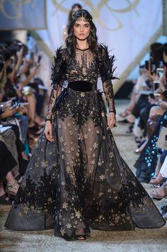 "runway-report: ""Blanca Padilla at Elie Saab Couture Fall 2017 """