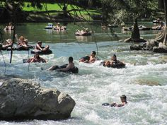 Guadalupe River at Gruene, Texas